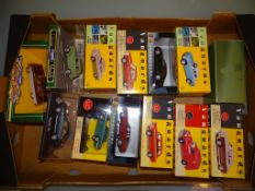 A tray of diecast cars by Corgi Vanguards, Corgi Classics and others as lotted - VG/E in G/VG