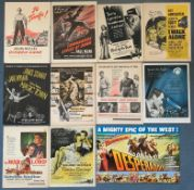 MAGAZINE TRADE ADS LOT x 11 - CITIZEN KANE (1940) / DESPERADOES (Double Page 1943) / GOLDEN EARRINGS
