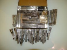 A large quantity of N Gauge points and other sundry track by Farish and others - G unboxed (Q)