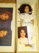 "An ANNETTE HAMSTEDT 'Minow' Artist Doll - 27"" as lotted - boxed"