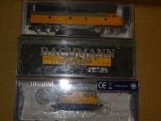 A group of three American diesel locomotives by BACHMANN in Union Pacific Livery - G/VG in G
