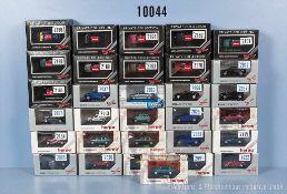 Konv. 31 Herpa H0 Modellfahrzeuge, Privat Collection, Exclusiv Serie, Serie 70 usw., dabei Pkw,