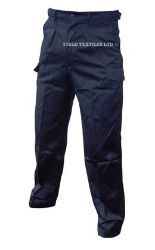 Lot 48 - PACK OF 10 ROYAL NAVY TROUSERS + PACK OF 10 ROYAL NAVY PCS SHIRTS - USED
