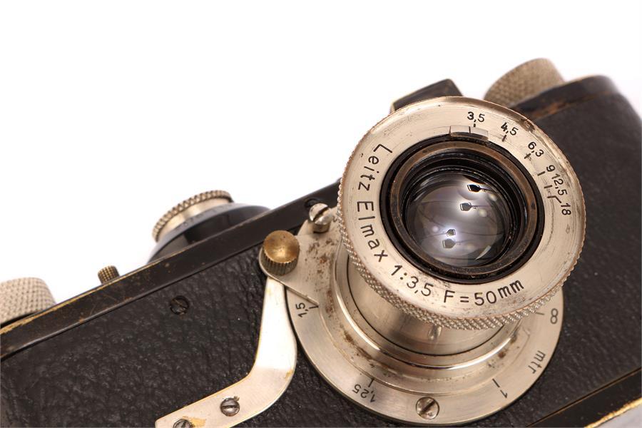 A Leica Model Ia Elmax Camera, - Image 7 of 8