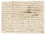 Lot 130 - Slavery.- Enfield (William) 3 Autograph Letters (1 a fragment only), concerning slavery, 1782-97; …