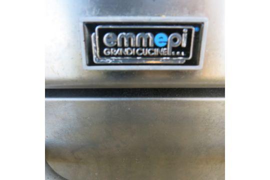 Emmepi grandi cucine floor standing gas hotplate griddle model