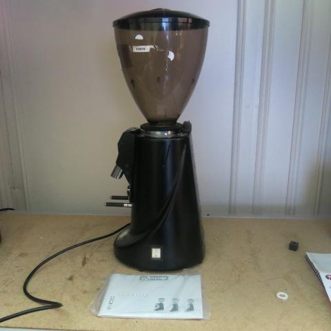 La Spaziale Astro Coffee Grinder With Knockbox border=