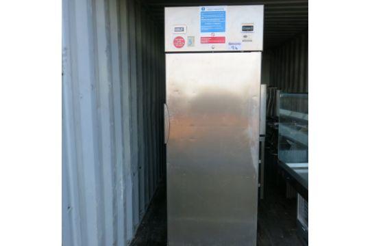 Emmepi grandi cucine stainless steel upright freezer model 70 bt
