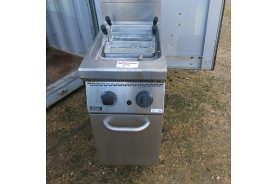 Emmepi grandi cucine double basket gas pasta boiler model cp702bn