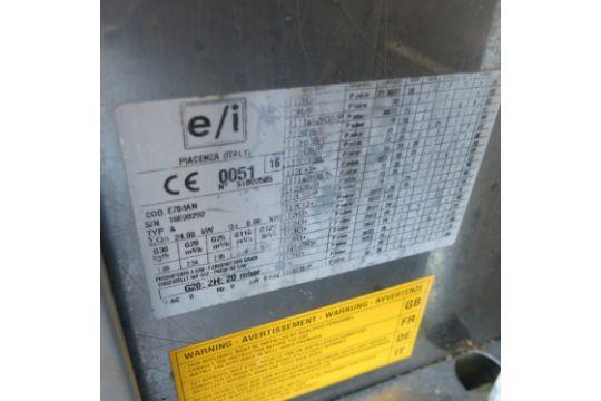 Emmepi Grandi Cucine 4 Ring Gas Range Cooker on Stainless Steel ...