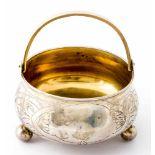 Henkelschale Russland, Silber, innen vergoldet (202g), Moskau 1908-1917 Meister: wohl Vasily