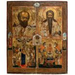 """*Hl. Nikolaus, Hl. Charalampios, Gottesmutter """"Freude aller Leidenden"""", Gottesmutter """"Lebenspendende"""