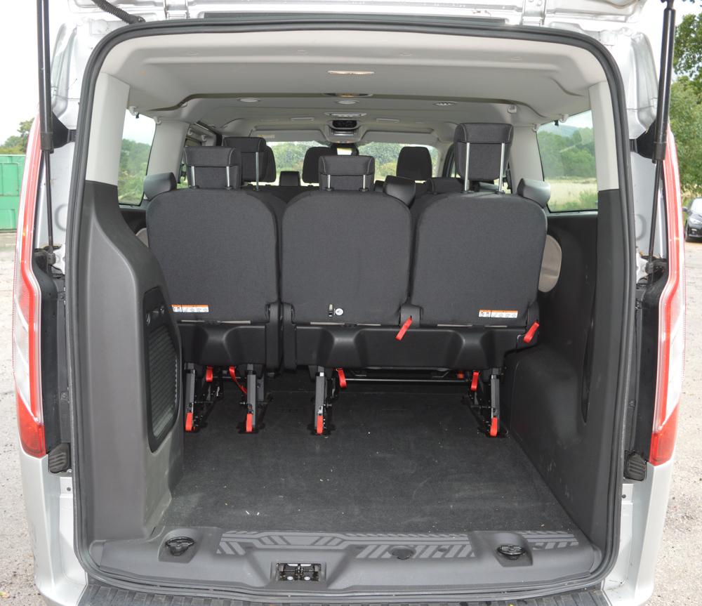 Ford Torneo Custom 8 Seat Minibus Registration Number