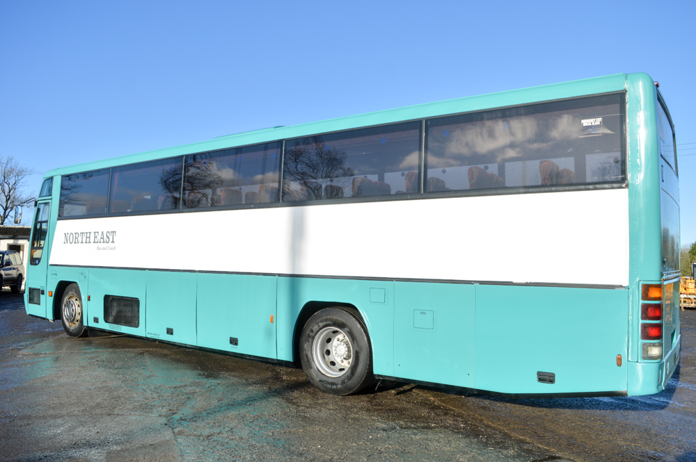 Lot 22 - Volvo Plaxton 53 seat luxury coach Registration Number: R596 GDX Date of Registration: 01/05/1998