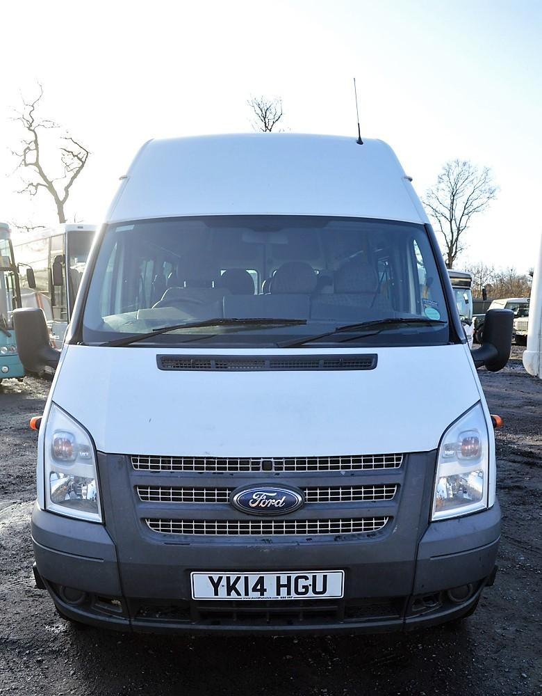 Lot 32 - Ford Transit 135 T430 RWD 16 seat minibus Registration Number: YK14 HGU Date of Registration: 22/04