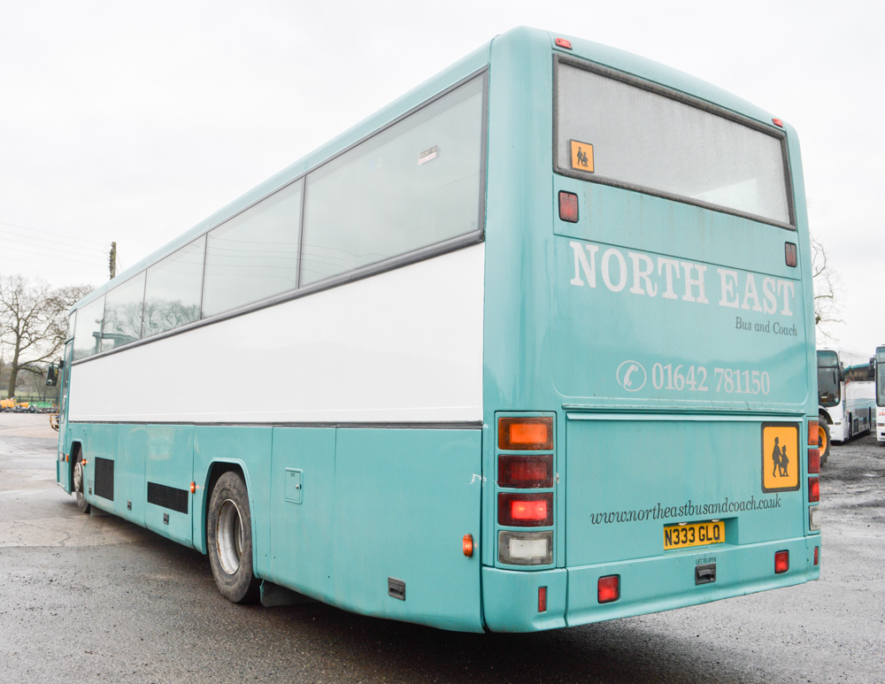 Lot 14A - Volvo Plaxton 70 seat luxury coach  Registration Number: N333 GLO  Date or registration: 09/02/