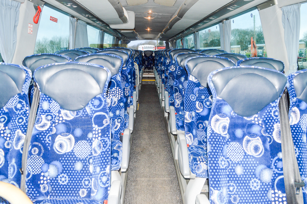 Lot 2 - Scania Irizar PB 49 seat luxury coach Registration Number: SN57 BKD MOT Expires: 01/09/2018 Recorded