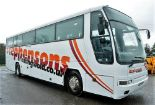 Lot 15 - Volvo Plaxton 53 seat luxury coach Registration Number: GAZ 5507 Date of Registration: 01/04/1995