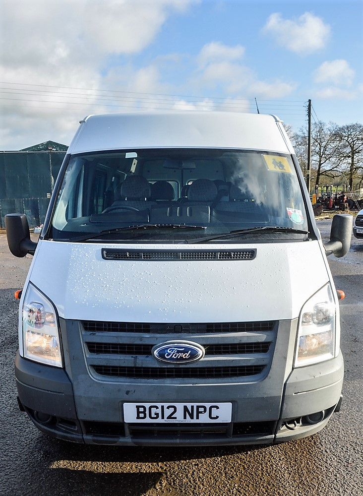 Lot 33 - Ford Transit 135 T430 RWD 16 seat minibus Registration Number: BG12 NPC Date of Registration: 16/05