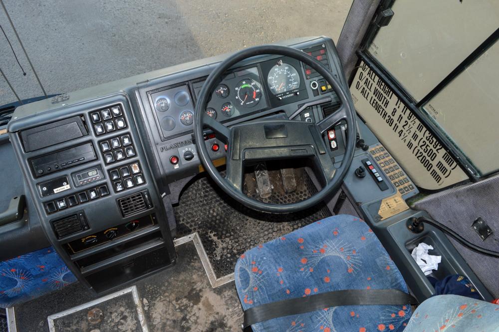 Lot 17 - Volvo Plaxton 49 seat luxury coach Registration Number: GAZ 5508 Date of Registration: 01/04/1995