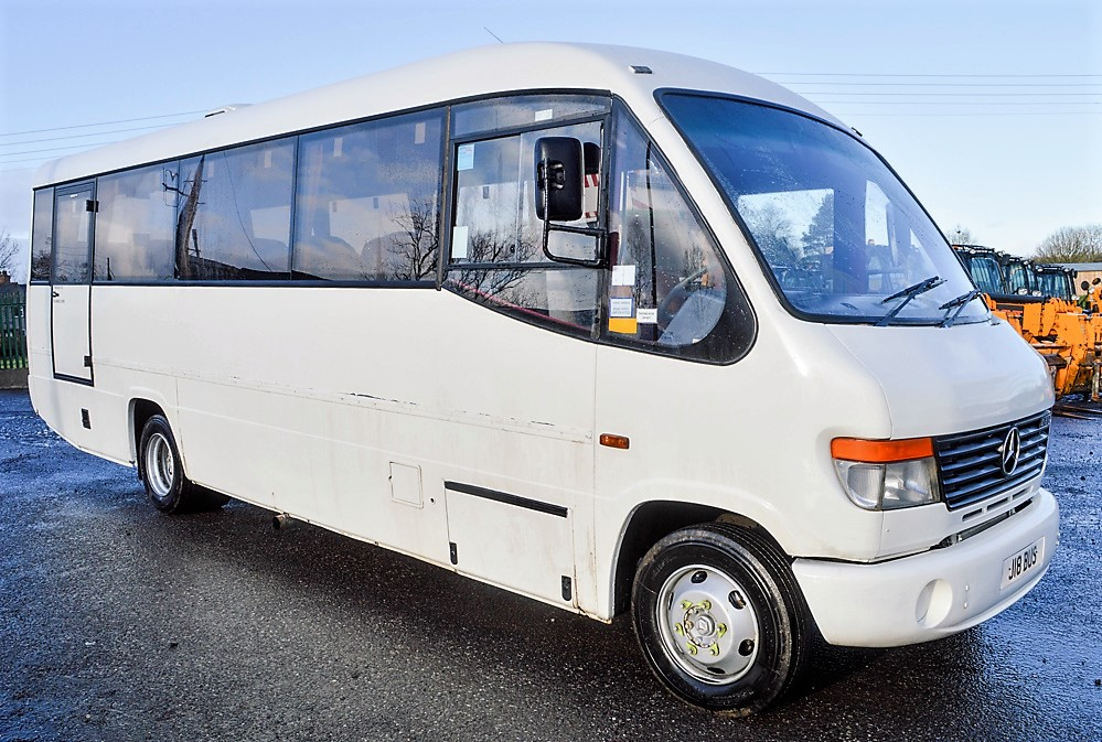 Lot 36 - Mercedes Benz Vario 29 seat minibus Registration Number: J18 BUS Date of Registration: 08/03/2006