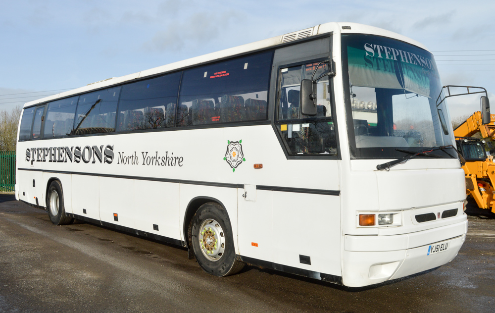 Lot 6 - DAF Ikarus 55 seat luxury coach Registration Number: YJ51 ELU Date of Registration: 03/09/2001 MOT