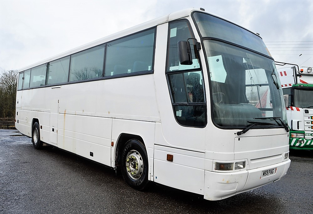Lot 16 - Volvo Plaxton 53 seat luxury coach Registration Number: M59 PAG Date of Registration: 06/03/1995 MOT