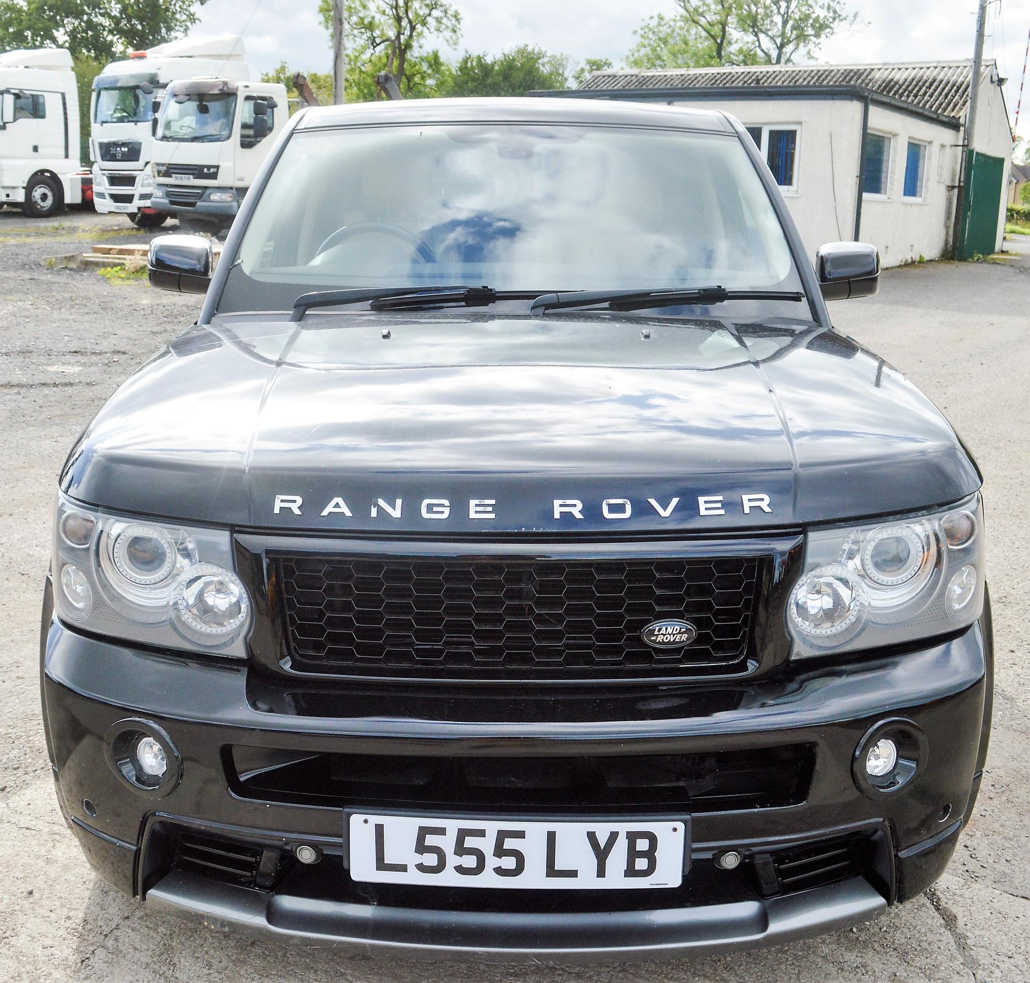 Range Rover Sport HSE TDV6 Estate Car Registration Number