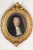 Porträt des Schwarzenberger Amtmann Johann Georg Rachals. Anonymist, Pastellkreide auf Papier,
