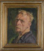 Selbstporträt. August Garbe (Niedersächsischer Kunstmaler, Akademie der bildenden Künste München