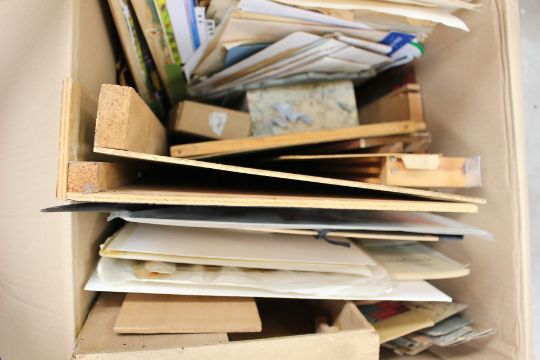 A Large Quantity Of Toy Theatre Props Stages Paper Works Scenes