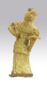Lot 420 - A Chinese Glazed Tang Style Figure Manufactured later 1850's-1890's, A glazed figure in presentation