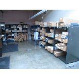 Fabric Holding Wood and Metal Bins. Lot: Qty (2) Fabric Holding Wood Bins, (25 Total Compartments,