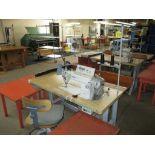 Lockstitch Reverse Industrial Sewing Machine. Juki DDL-5550N-7 1-Needle Lockstitch Reverse