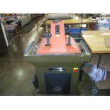 Swing Arm Clicker Press. Manufacturers Supplies Co. SL 999/5 Swing Arm Clicker Press. SN#