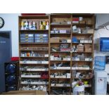 Maintenance Shop Supplies. Maintenance Shop Supplies including Work Table with Power, Shut Off