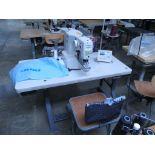 Bar Tacking Sewing Machine. Juki LK-1900A-HS Computer-controlled, High-speed, Bartacking Sewing