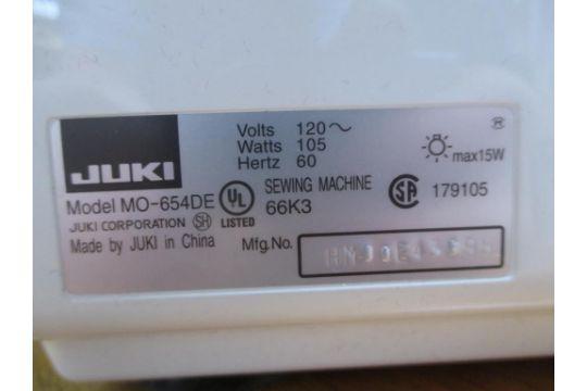 Overlock Serger Sewing Machine Juki MO400DE 400Needle 40040040Thread Gorgeous Prizzi Sewing Machine