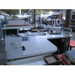 Tie Tipping Sewing Machine. AMF Reece Custom Template Tie Tipping Sewing Machine. HIT# 2174235.