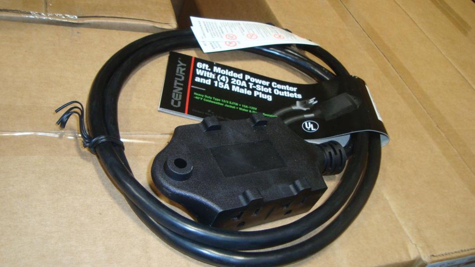 Extension Cords. Lot: 648 Total (27 Boxes - 24 ea.) Century Wire & Cable pn# D19005771 6ft Heavy