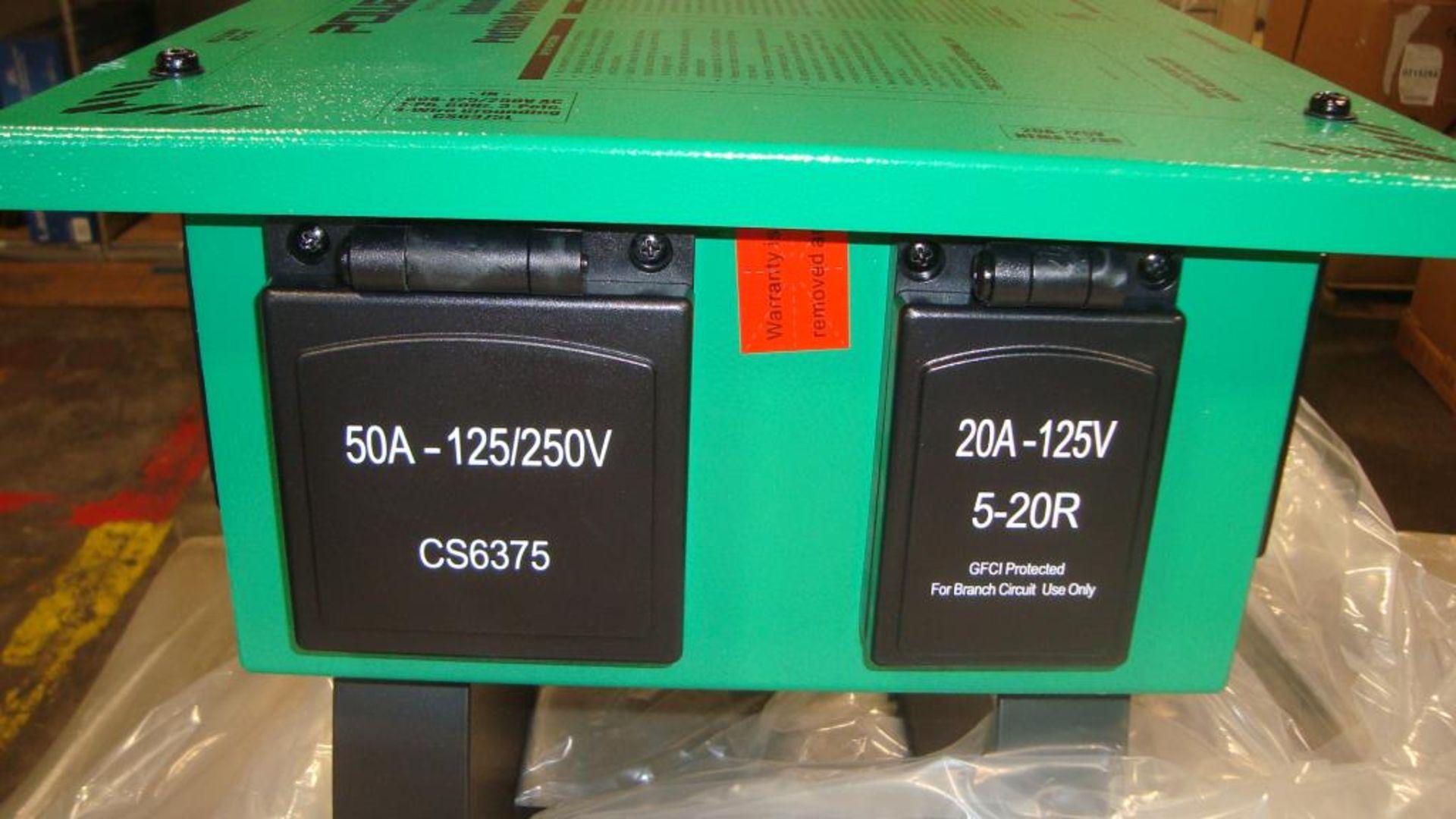 Power Distribution Center. Lot: (1 skid/24 per skid) Power Tech Model D18511000GN Indoor- Outdoor - Image 9 of 13