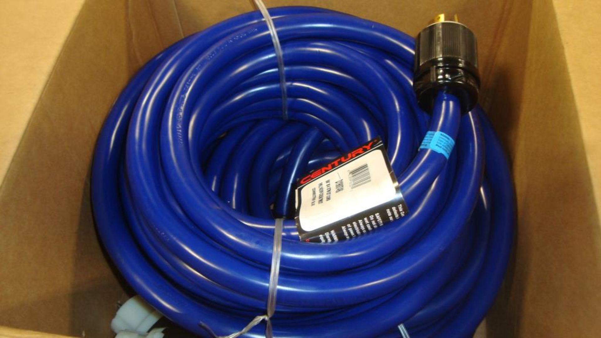 Extension Cords. Lot: 48 Total (24 Boxes-2 ea.) Century Wire & Cable pn# D19007490 50ft Generator to