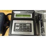 Shortridge ADM-8690C Meter; Lot: (3) electronic micrometer, airdata multimeter. HIT# 2226555. Loc: