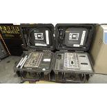 Hart Scientific 9009 Calibrator; Lot: (2) dual well dry block calibrator -15Cto 350C, 115v. SN#