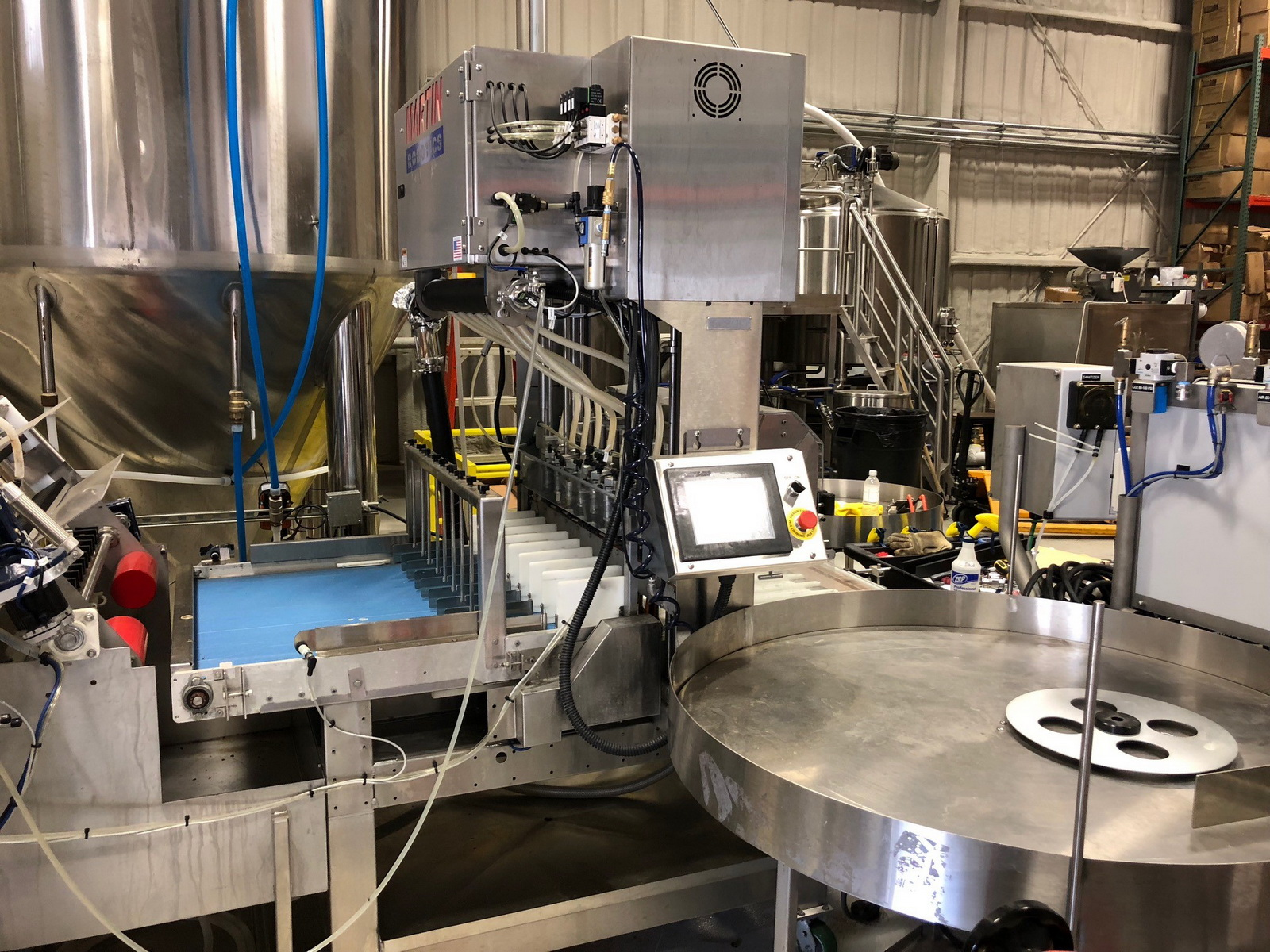 Whistle Post Brewing-Bottling Line with Four Registered Trademarks Included