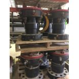 """Rotating Flange. Lot: (9) Consisting of GT6-5F WH Adapter, 7 1/16 5M Top Rotating Flange / 7 -1/6"""""""