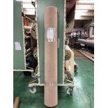 1 x Ryalux Carpet End Roll - Cream 5.0x2.1m2