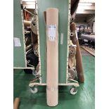1 x Ryalux Carpet End Roll - Cream 3.1x1.8m2