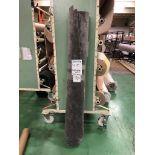 1 x Ryalux Carpet End Roll - Grey 4.0x1.8m2
