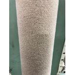 1 x Ryalux Carpet End Roll - Cream 4.9x2.1m2